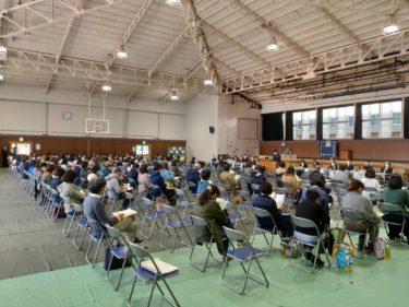 令和2年10月31日 2年生保護者懇談会が行われました